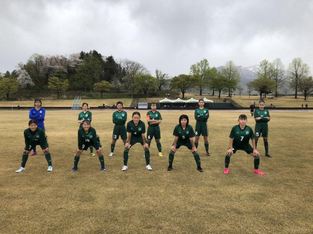JFA U-15女子サッカーリーグ2021北信越 前期2節